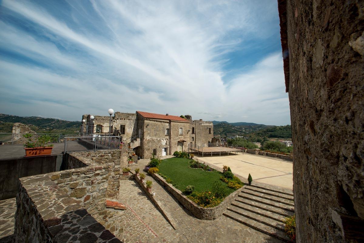 castello provincia salerno