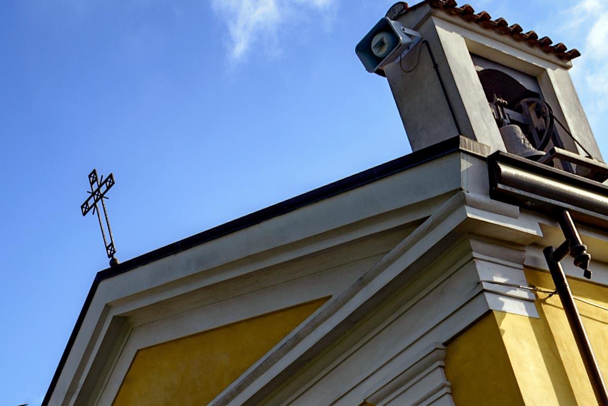 crocefisso chiesa carmine
