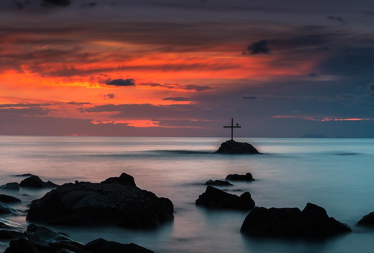 tramonto scoglio francesco
